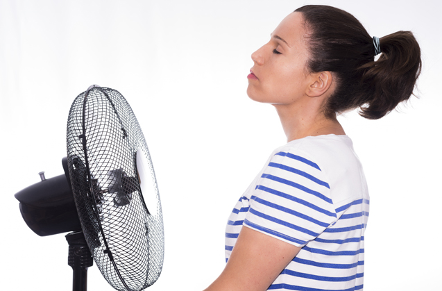 Cope with the menopause: Hot flushes