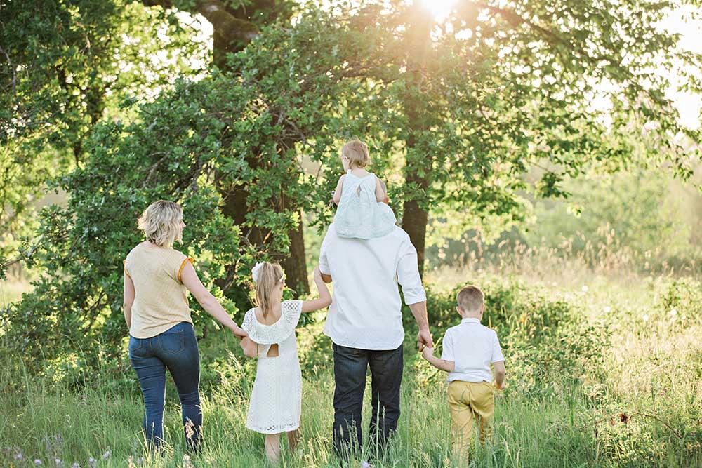 Happy health family